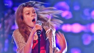 Courtney Hadwin ✫ The Voice Kids UK ✫ Blind Auditions + Battle + Semi Final + Live Final