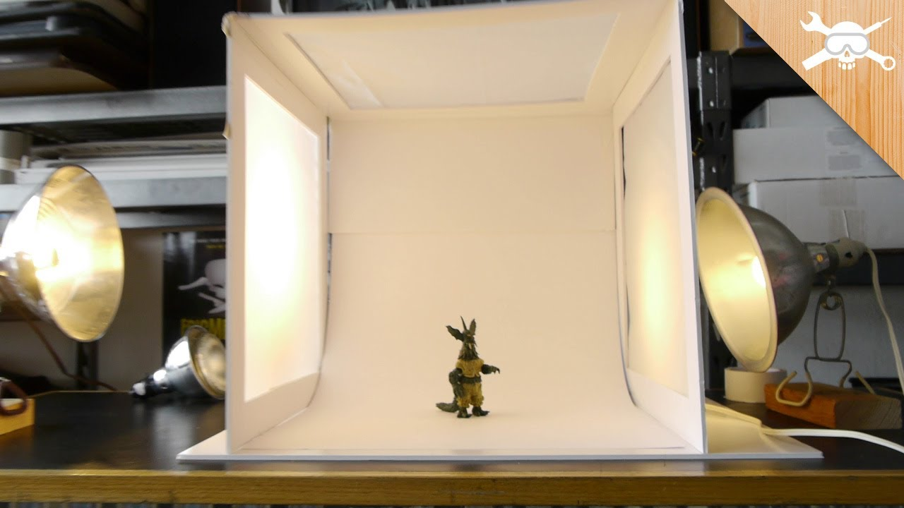Image result for homemade light box