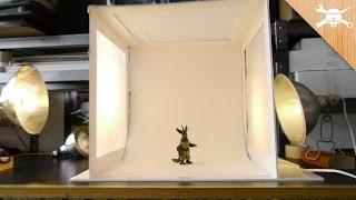 Ucuza Bir Işık Kutusu Oluşturmak, Muhteşem Fotoğraflar Çekin!