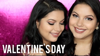 Mauve Valentines Day Makeup Look 2017 | Using MorpheXKathleenlights Palette