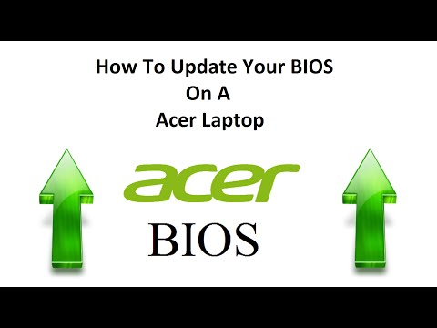 How To Update Your BIOS On A Acer Laptop - YouTube
