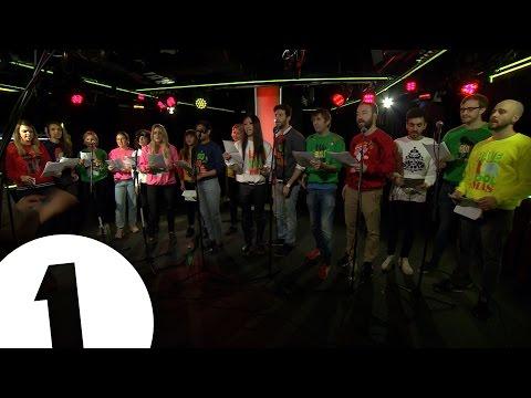 Bieber Xmas Medley for Nick Grimshaw and BBC Radio 1
