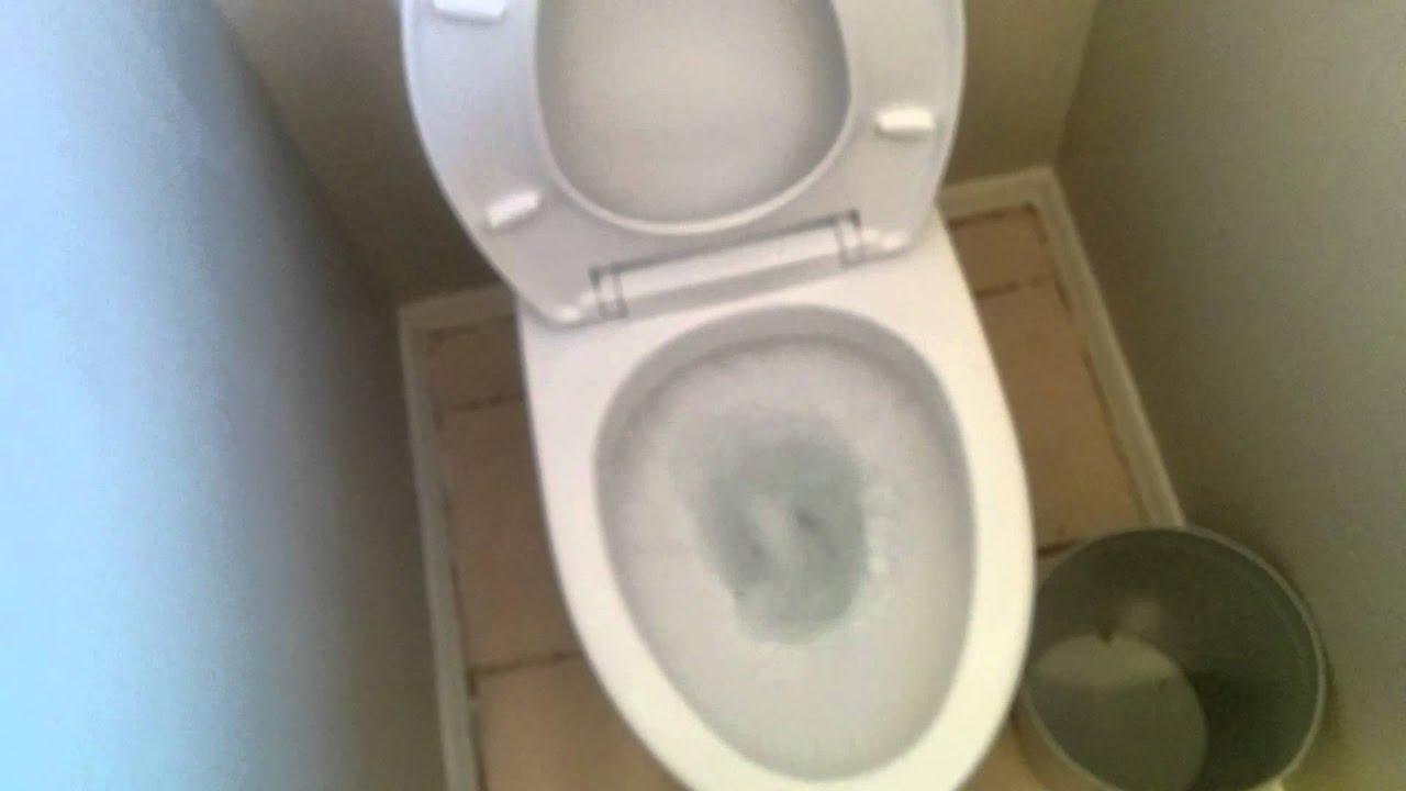 Toto Aquia 2 - 1st flush - YouTube