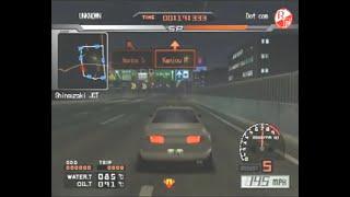 Tokyo Xtreme Racer 3 - Nagoya Stage 1 Speedrun (45:48)