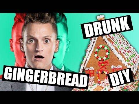 Christmas Drunk DIY | Gingerbread House DIY Drunk | DIY FAIL Christmas | Philip Green Challenge