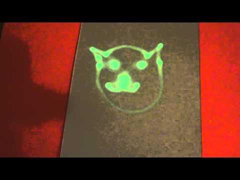 LED on UV paper