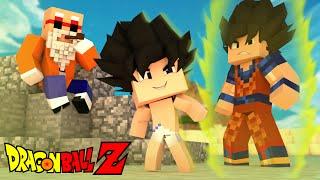 Minecraft - WHO'S YOUR DADDY? - VIREI FILHO DO GOKU (Dragon Ball Z)