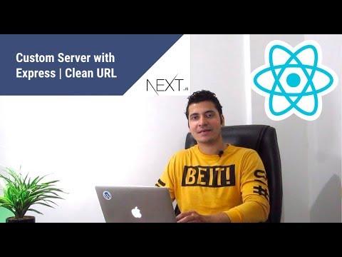 #9 Next js Clean Url | Next js custom server | next js custom routes | next.js express server