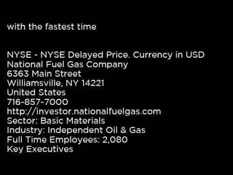 NFG - National Fuel Gas Company NFG buy or sell Buffett read basic