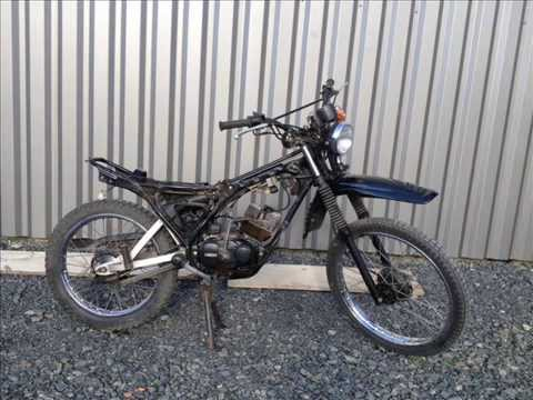 trailer restauration yamaha dt 50 mx automatique 1981 youtube. Black Bedroom Furniture Sets. Home Design Ideas