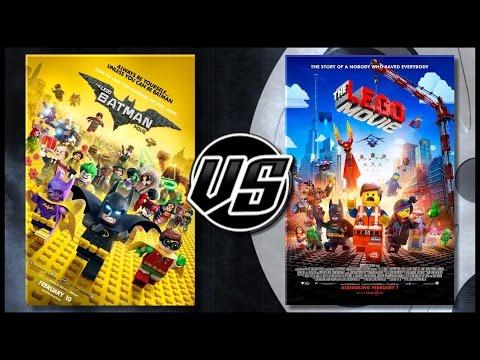 The Lego Batman Movie VS The Lego Movie