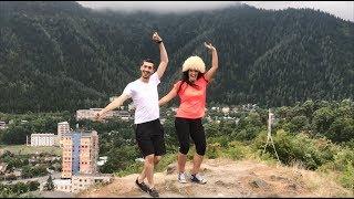Парень Научил Грузинку Танцевать Лезгинку Madina Madina 2018 ALISHKA IA Боржоми