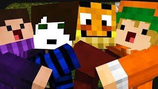 4 YouTuber haben zusammen Spaß in Minecraft Mario Party! ☆ Minecraft: Mario Party