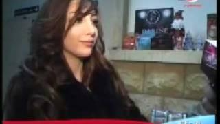 Darine Hadchiti On Akher Al Akhbar-Rotana (Christmas)
