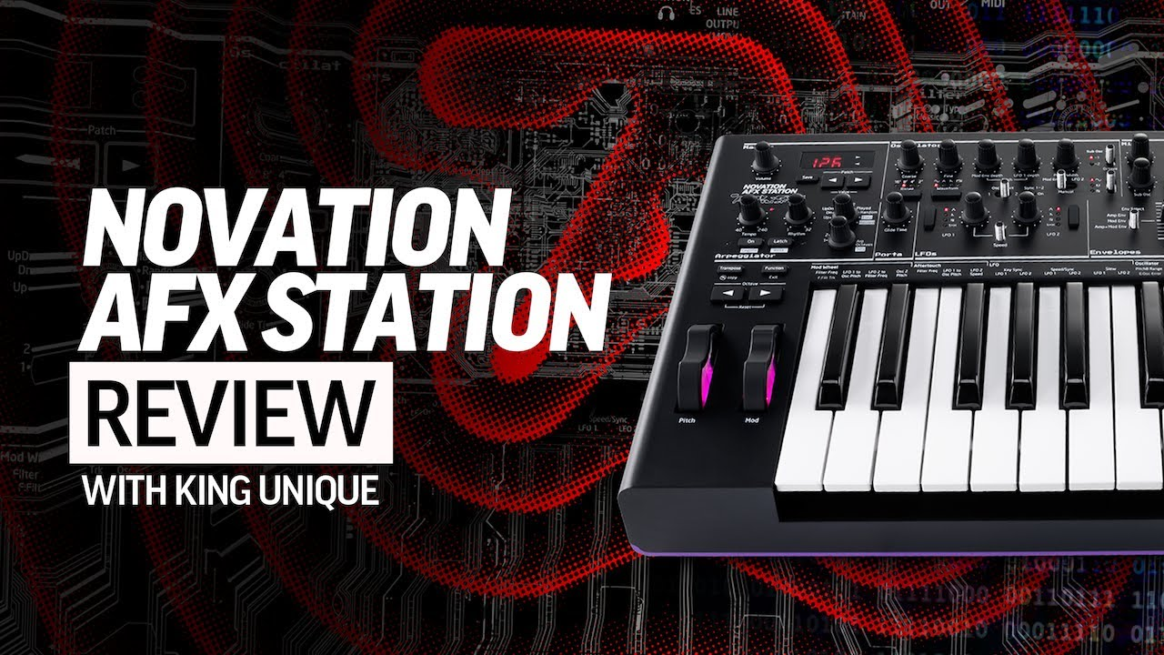 Novation AFX Station Review - How To Sound Like Aphex Twin