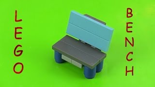 Lego Bench  - How To Make An Outdoor Bench