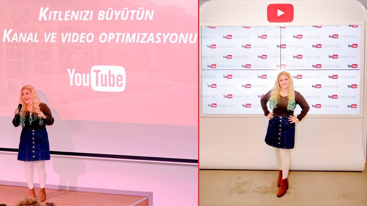 YOUTUBE ELÇİSİ OLDUM | Youtube Creator Day (İstanbul)
