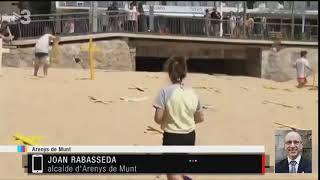 Joan Rabasseda ERC alcalde de Arenys Munt ser persona 21.5.18