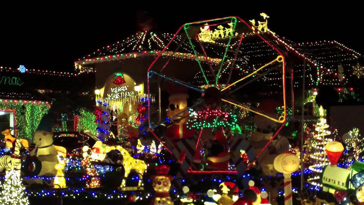 Hyatt Extreme Christmas Lights 2011 # 2 Ft. Lauderdale, FL - YouTube
