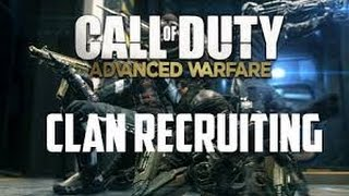 AW Clan recruitment