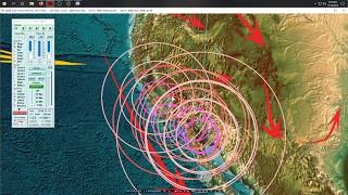 11/12/2019 -- New eruption in Alaska + M4.0 swarm in Southern California -- Unrest spreads