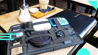 Grid-It Organizer Review (Cocoon Innovations) | Organize Tech, Cords, and Other Travel Electronics