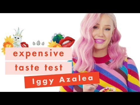💰Iggy Azalea Has ~Fancy~ Taste and Isn't Sorry About It 💰| Expensive Taste Test