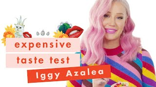 Iggy Azalea Has Fancy Taste And Isn T Sorry About It Expensive Taste Test