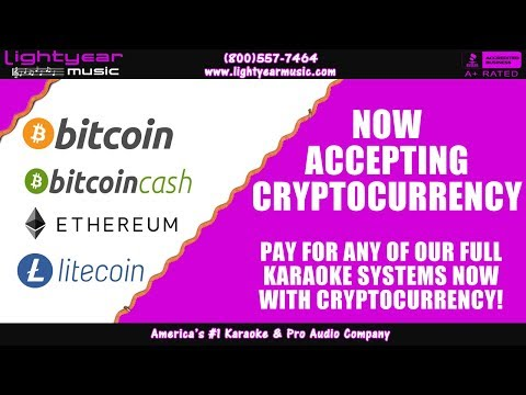Cryptocurrency Bitcoin, Bitcoin Cash, Ethereum, Litecoin Now Accepting Cryptocurrency Lightyearmusic