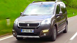 New peugeot partner 2015 - first test drive