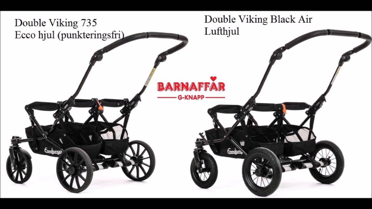 Zwillingskinderwagen emmaljunga  Emmaljunga 2016. Double Viking/Double Viking 735 - YouTube