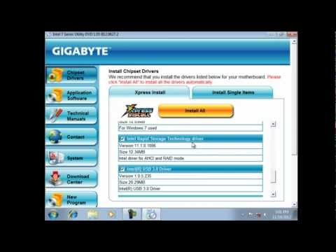 How to Build a Gaming PC 2012 - Part 3a - Installing, Configuring & Optimizing Windows 7 w/SSD