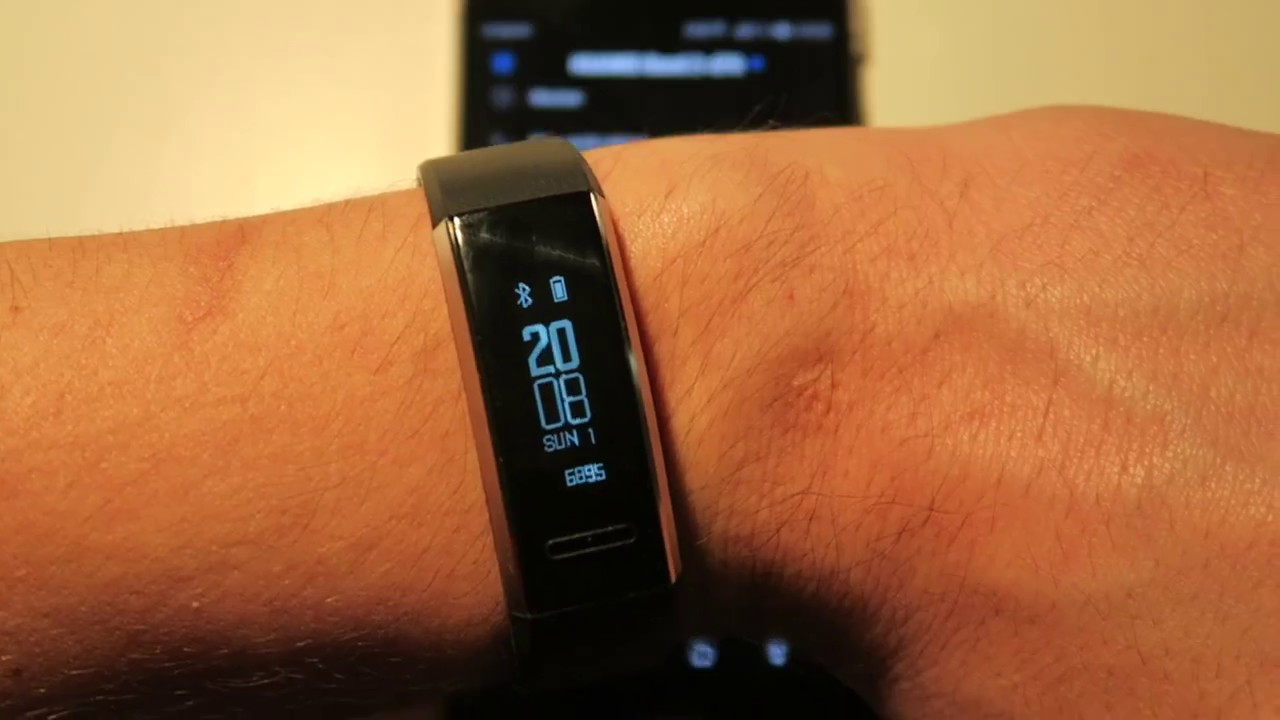 45c878d41 Huawei Band 2 Pro - Vorstellung - YouTube