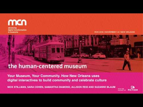 MCN2016 - Your Museum, Your Community