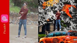 PICSART EDITING TUTORIAL|| PICSART CB EDIT|picsart cb editing tutorial 2017 | PICSART BHAGWA EDIT ||