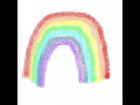 Rainbow Colors In French