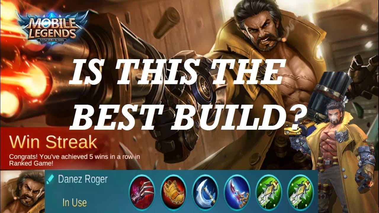 Mobile Legends: Roger Best Build?