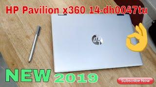HP Pavilion x360 14-dh0047TU 2019 14-inch Touchscreen Laptop.