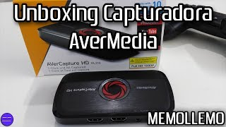 Capturadora AverMedia GL310 | Unboxing |