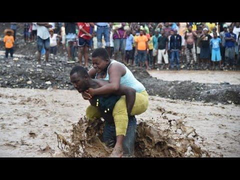 Monster HURRICANE Matthew Ravage CARIBBEAN 69 Dead   Destruction in HAITI & CUBA (USA) Beware