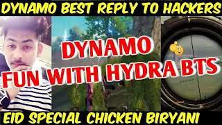 Dynamo Eid Special Funny Gameplay With Hydra BTS, Dynamo Gaming Best Reply To Hackers