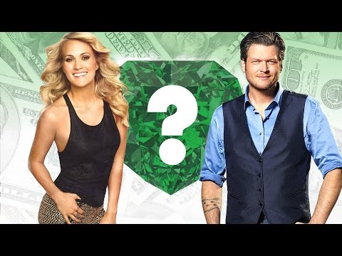WHO'S RICHER? - Carrie Underwood or Blake Shelton? - Net Worth Revealed! (2016)