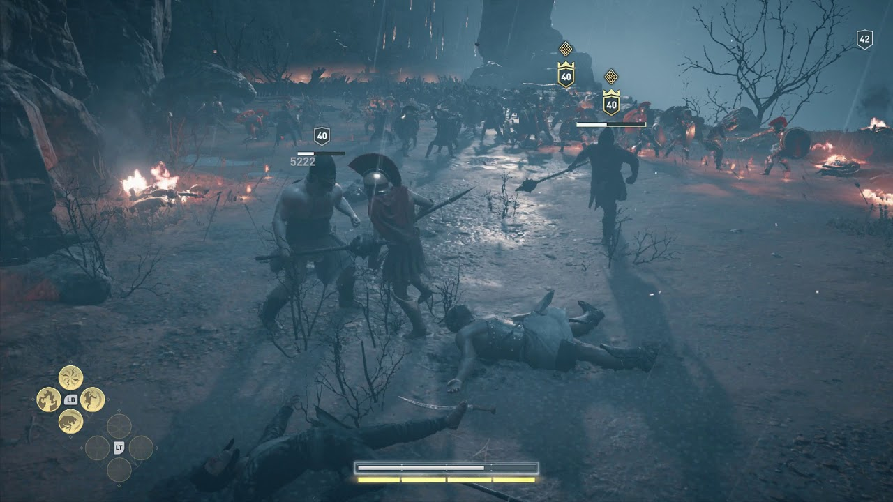 Assassin's Creed Odyssey Parry in Battle