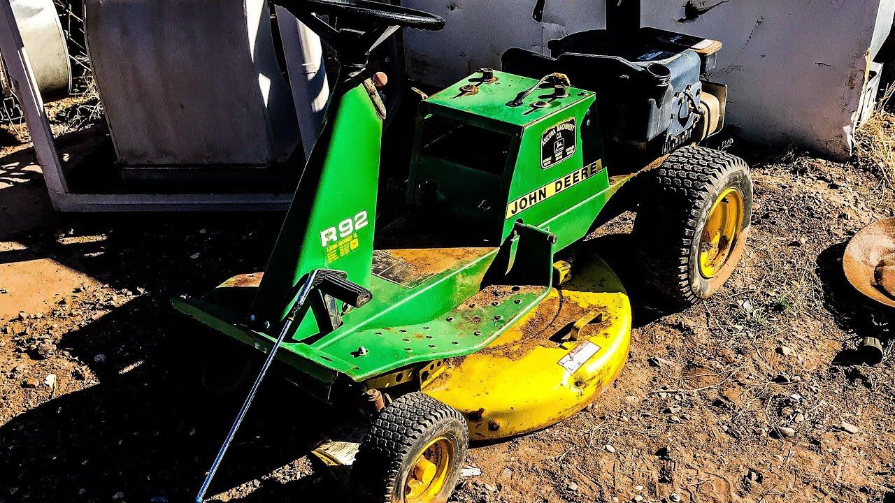 John Deere R92 found at Junk Yard