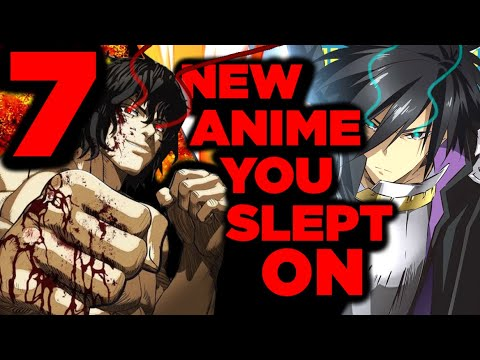 7 NEW AMAZING ANIME THAT YOU NEED TO WATCH