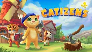 Mundo dos gatos com minha filha   Catizens (Gameplay em Português PT-BR)