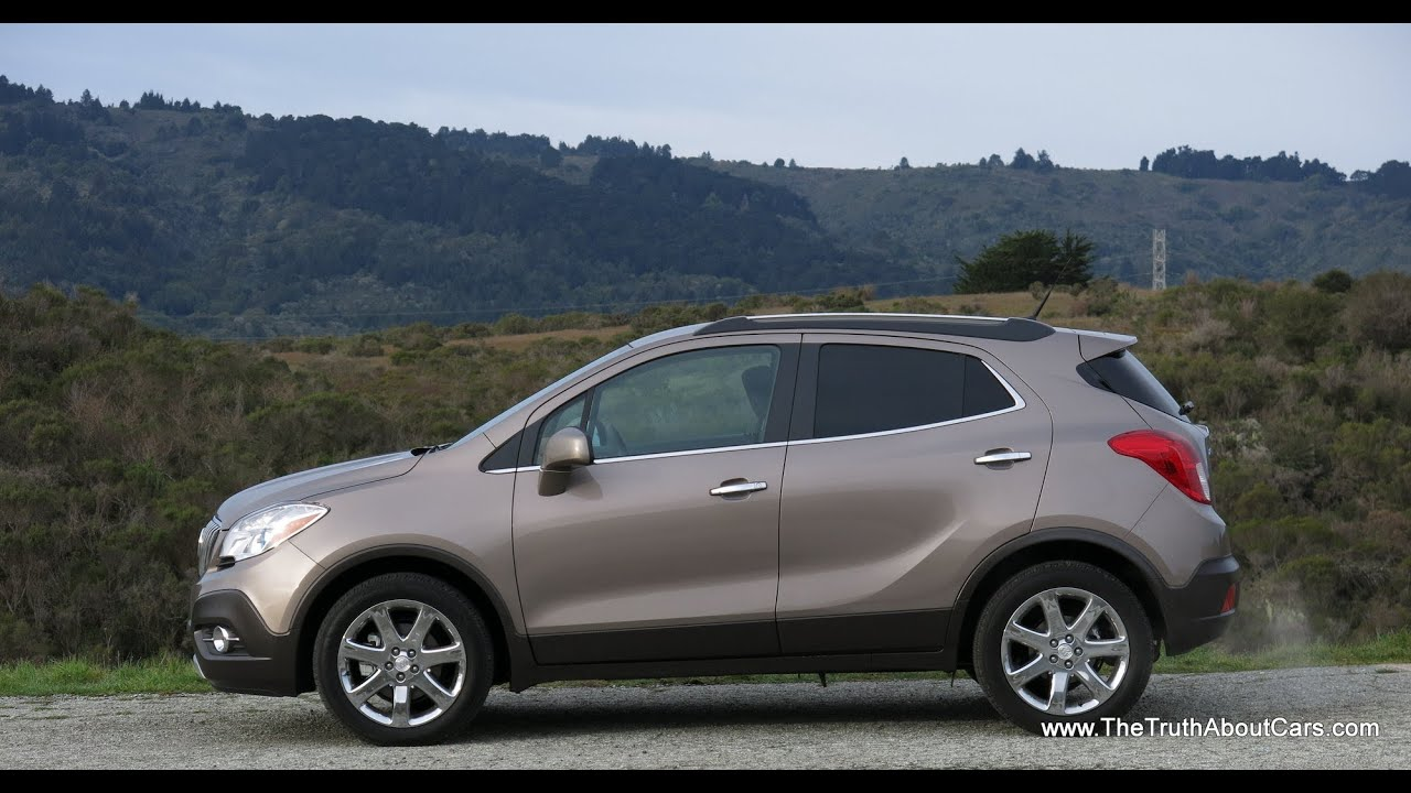 2013 and 2014 Buick Encore Review and Road Test with IntelliLink ...