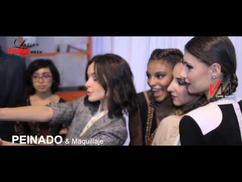 Peinado & Maquillaje Latino Fashion Week Chicago ||| Videos De Moda Pierre Dulanto