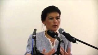 Sahra Wagenknecht über den Terrorstaat USA und seine Komplizen