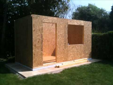 Quick sips garden building construction youtube for Garden construction